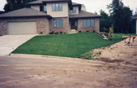 Earthscapes, Inc. sodding - after